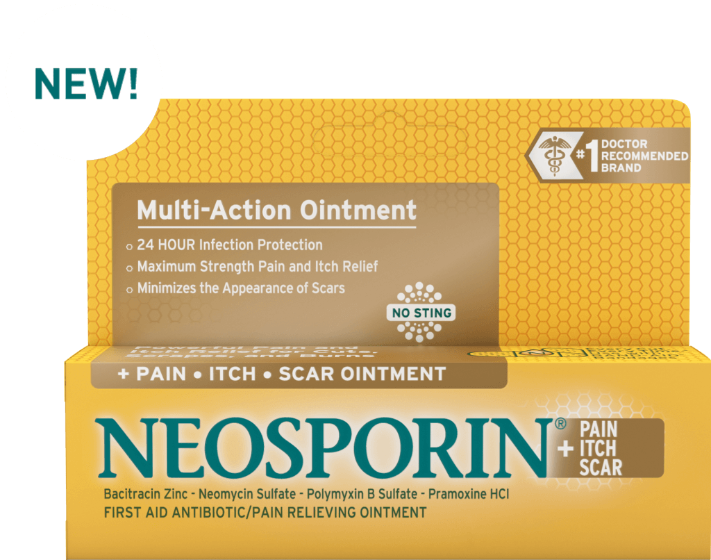 Minimize The Appearance Of Scars Neosporin Pain Itch Scar