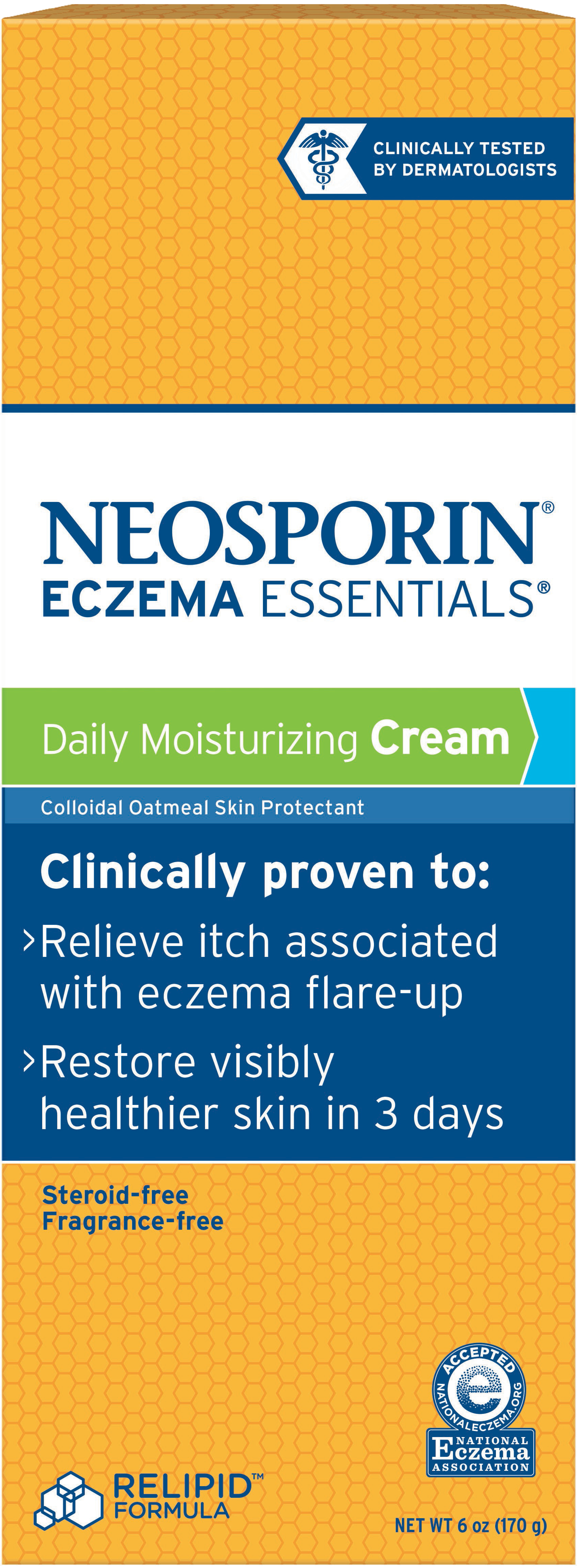 NEOSPORIN® ECZEMA ESSENTIALS® Daily Moisturizing Cream