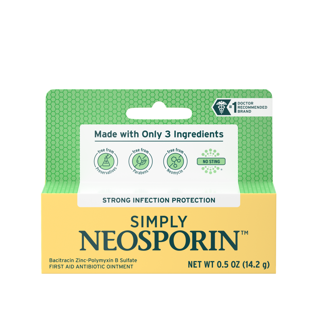 SIMPLY NEOSPORIN™ – Three Ingredient Antibiotic Ointment
