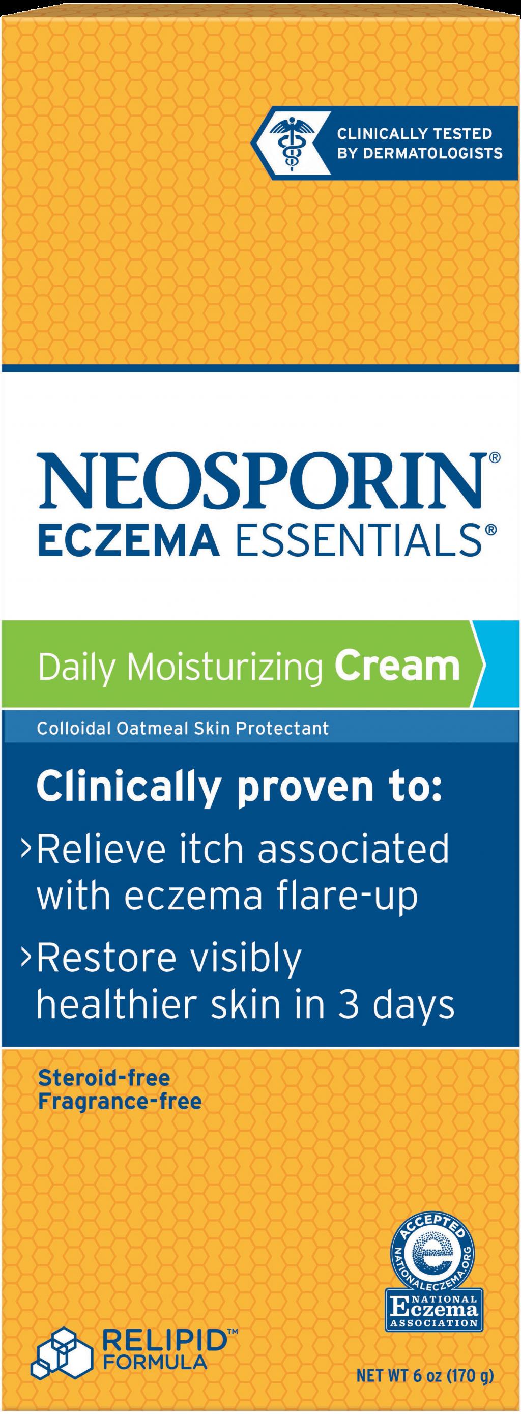 Moisturizing Eczema Treatment Cream | NEOSPORIN®